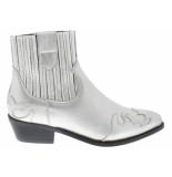 Dwrs Austin flame boots metallic silver
