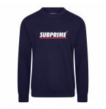 Subprime Sweater stripe navy