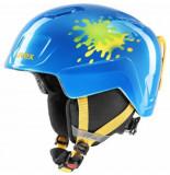 UVEX Skihelm junior heyya blue splash-51 -
