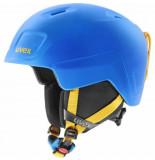 UVEX Skihelm junior heyya pro blue yellow mat-51 -