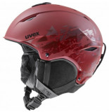 UVEX Skihelm primo style rusty red mat-59 -