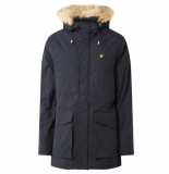 Lyle and Scott Winterjas weight microfleece lined parka