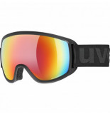 UVEX Skibril topic fm black mat / mirror rainbow