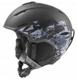 UVEX Skihelm primo style black mat-52 -