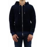 Balmain Zipped velvet hoodie