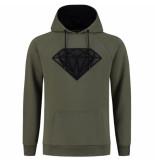 Elegante heren trui capuchon sweat superman hoodie -