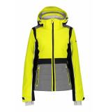 Luhta Ski jas women ekois yellow-maat