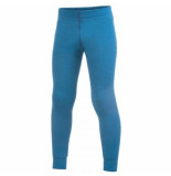 Woolpower Ondergoed kids long john 200 dolphine blue-maat 98 / 104