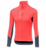 Castelli Fietsshirt women trasparente 4 jersey full zip brilliant pink-m
