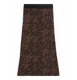 Catwalk Junkie 2002034225 100 black brown lange rok -