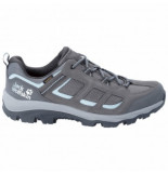 Jack Wolfskin Wandelschoen women vojo 3 texapore low tarmac grey light blue-schoenmaat 40,5