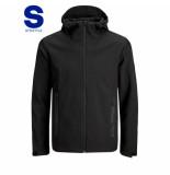 Jack & Jones 12173757 pearce black jacket softshell -