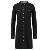 Numph new shelly dress zwart