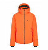 J. Lindeberg Ski jas men truuli ski jacket juicy orange-m