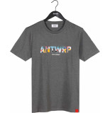 Antwrp T-shirt med grey chine
