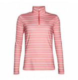 Protest Trui women donna 1/4 zip think pink-xs