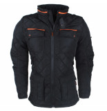 The Wild Stream Wildstream heren winterjas model loutside -