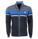 The Wild Stream Wildstream heren vest fleece gevoerd grof gebreid model sorillon -
