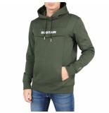 Sustain Logo anorak regular hoodie