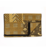 Tresanti | sjaal patchwork double face yellow