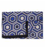 Tresanti | sjaal honeycomb scarf in blue