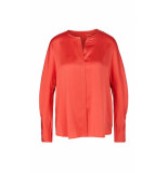 Marc Cain Zijden blouse met swarovski® kristallen
