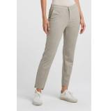 YAYA 121169-023 stretch trousers with fishbone pattern