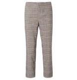 YAYA 121165-022 trousers with checks