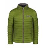 Milestone Gewatteerde jas norwick green van | shirtdeal