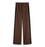 Maison Scotch Wide leg pants with contrast side