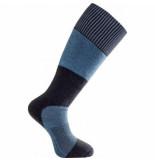 Woolpower Sokken unisex socks skilled knee high 400 dark navy nordicblue-schoenmaat 36 39