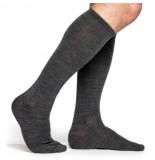 Woolpower Sokken unisex liner knee-high grey-schoenmaat 36 39