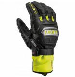 Leki Handschoen men worldcup race ti s speed system black ice lemon-