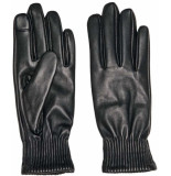 Only Onlnora leather gloves black