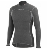 Castelli Ondershirt men flanders warm ls grey-l