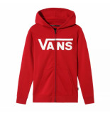 Vans Vest boys classic zip hoodie ii chili pepper white-m