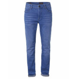 No Excess Denim, super slim fit 710, coloured electric blue