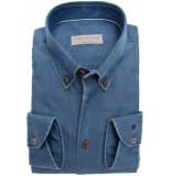 John Miller Heren overhemd denim button-down slim fit