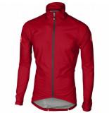 Castelli Fietsjack men emergency rain jacket red-l