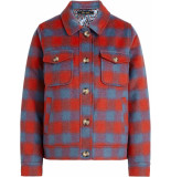 King Louie Sile shirt jacket seattle fire red