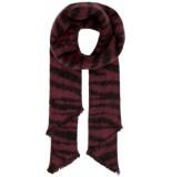 Only Nina life heavy fringe tiger scarf