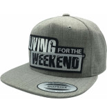 Living for the Weekend Classic snapback heather 271