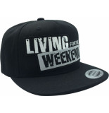 Living for the Weekend Classic snapback black 183