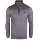 Gabbiano Pull with zipper grey