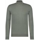 Purewhite Fine knit pull green