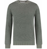 Purewhite Knit pullover army green