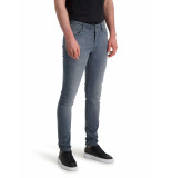 Purewhite The jone skinny fit jeans grey blue