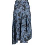 Aaiko Giukie strokes 520 skirts steel blue
