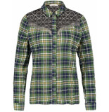 Aaiko Cecily 552 blouses army green