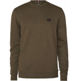 Les Deux Piece sweatshirt dark green melange